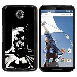 LOVE FOR NEXUS 6 / X / Moto X Pro The Bat Superhero Personalized Design Custom DIY Case Cover