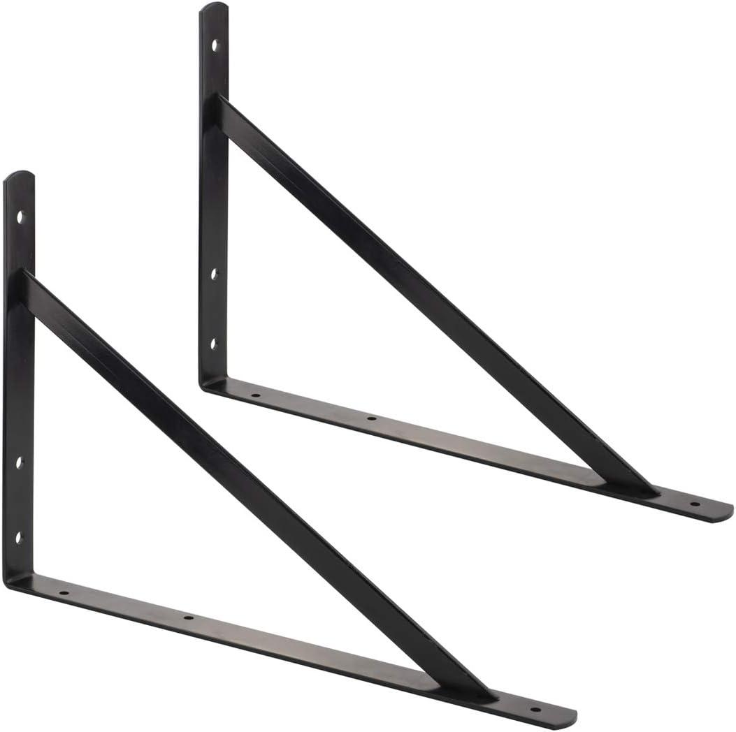 Basics 25,4 x 40,6/cm AB5501 Regalwinkel Schwarz