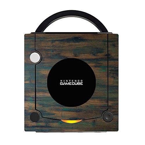 Wood Rustic with Vintage Paint Wooden Background Gamecube Vinyl Decal Sticker Skin by Moonlight Printing