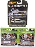 Ghostbusters Ecto-1 Hot Wheels Car + Ghostbusters MiniMates Figures 2016 Movie Set 2-Packs Set Erin Jillian Abby & Patty
