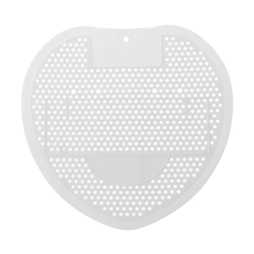 JUNESUNN Parfum/é D/ésodorisant Urinoir Tapis De Toilette Anti Blocage Pad H/ôtel Accueil