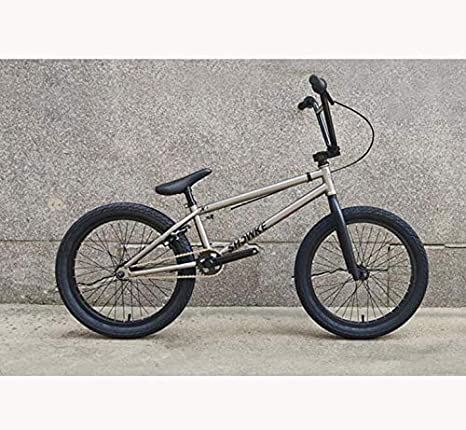 GASLIKE Bicicleta BMX de 20 Pulgadas para Adolescentes y Adultos, Nivel Principiante a avanzado, Cuadro de Acero con Alto Contenido de Carbono