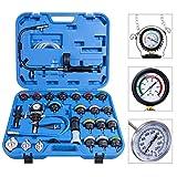 LHONE 28PCS Universal Radiator Pressure Tester Sdapters and Cooling System Vacuum Refill Purge kit