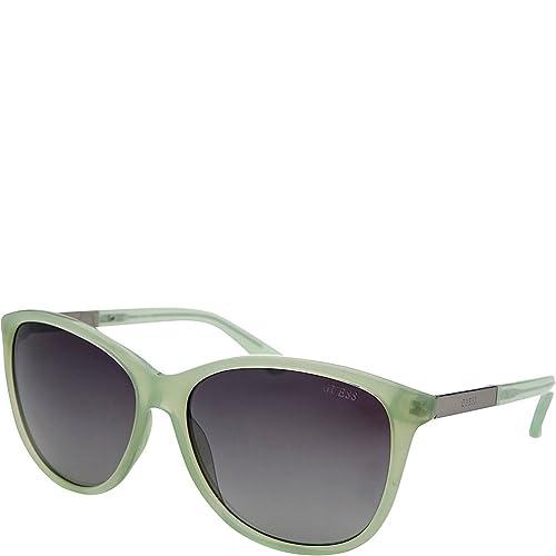 Guess Occhiali da sole GU7389 5893C (58 mm) Verde Chiaro