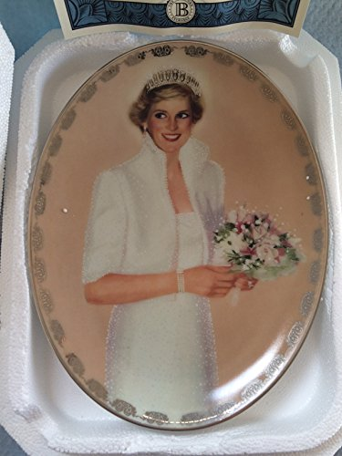 1997 Collectors Plate (Princess Diana: Queen of Our Hearts -- 1997 Bradford Exchange Collector Plate #1 --