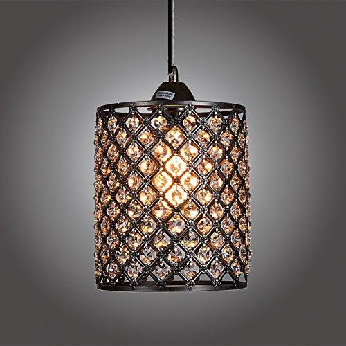 Antique Crystal Pendant Light - 3