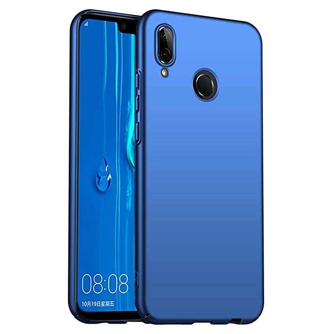 Case Compatible with Huawei Y9 2019 Case,Slim Hard Plastic Anti-Scratch Cover Case Huawei Y9 2019