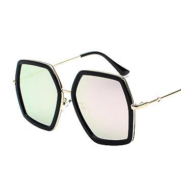 Axiba Cara Redonda Metal Mujer Gafas de Sol Gafas de Sol ...