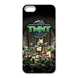 Teenage Mutant Ninja Turtles Fashion Comstom Plastic case cover For Iphone 5s