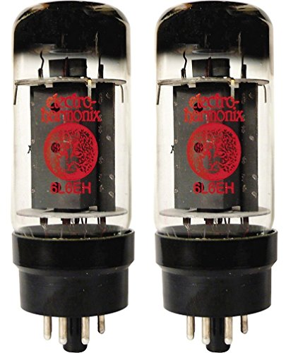 Electro-Harmonix 6L6EH Power Vacuum Tube, Platinum Matched Pair by Electro-Harmonix