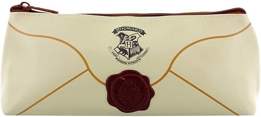 Estuche oficial con dise/ño de carta de Hogwarts HARRY POTTER