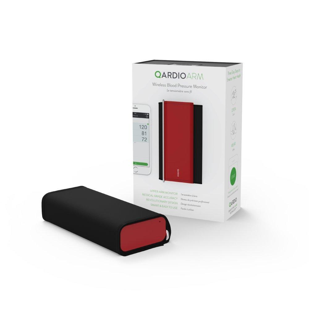 QardioArm -Tensiómetro Inalámbrico para iOS y Android, Color Rojo Fuego: Amazon.es: Salud y cuidado personal