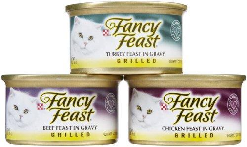Fancy Feast Land Variety Pack- 30x3 oz