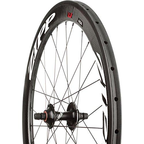 (Zipp 404 Firecrest Track Wheel - Tubular White, Front)