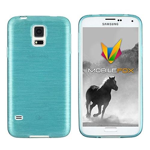 Mobilefox Paul Schutzhülle Soft Case Samsung Galaxy S5 Blau