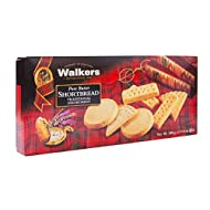 Walker's Shortbread Pure Butter Shortbread Assorted Cookies, 17.6 Ounce (Pack of 1)