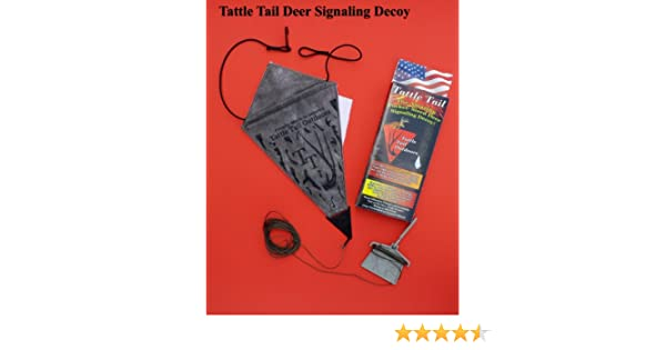 Tattle Tail Power of the Tail Deer signaling Decoy and Lure
