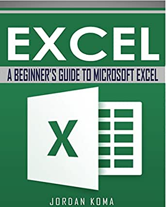 Book on excel for beginners