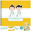 PHYSICAL THERAPIST GIFTS - Personalizable Humor Booklet With Card For Your Favorite Physiotherapist, Chiropractor, Physiotherapy or Chiropractic Practitioner! Easy-To-Fill and Thoughtful Gift Ideas!
