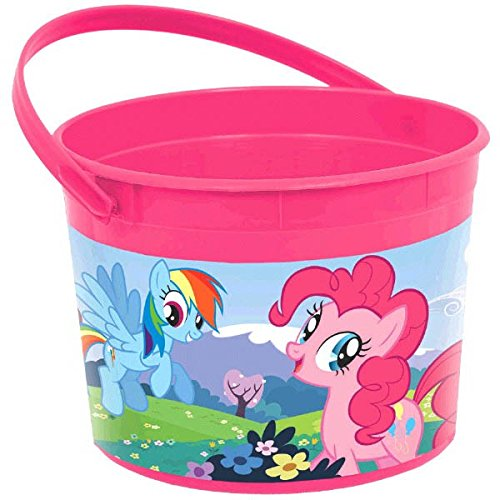 Plastic Favor Container | My Little Pony Friendship Collection | Party -