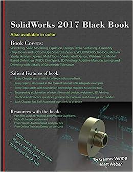 SolidWorks 2017 Black Book: Amazon co uk: Gaurav Verma, Matt