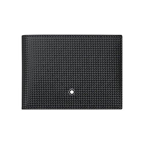 Montblanc Westside Extreme Black Leather 6CC Wallet 111143