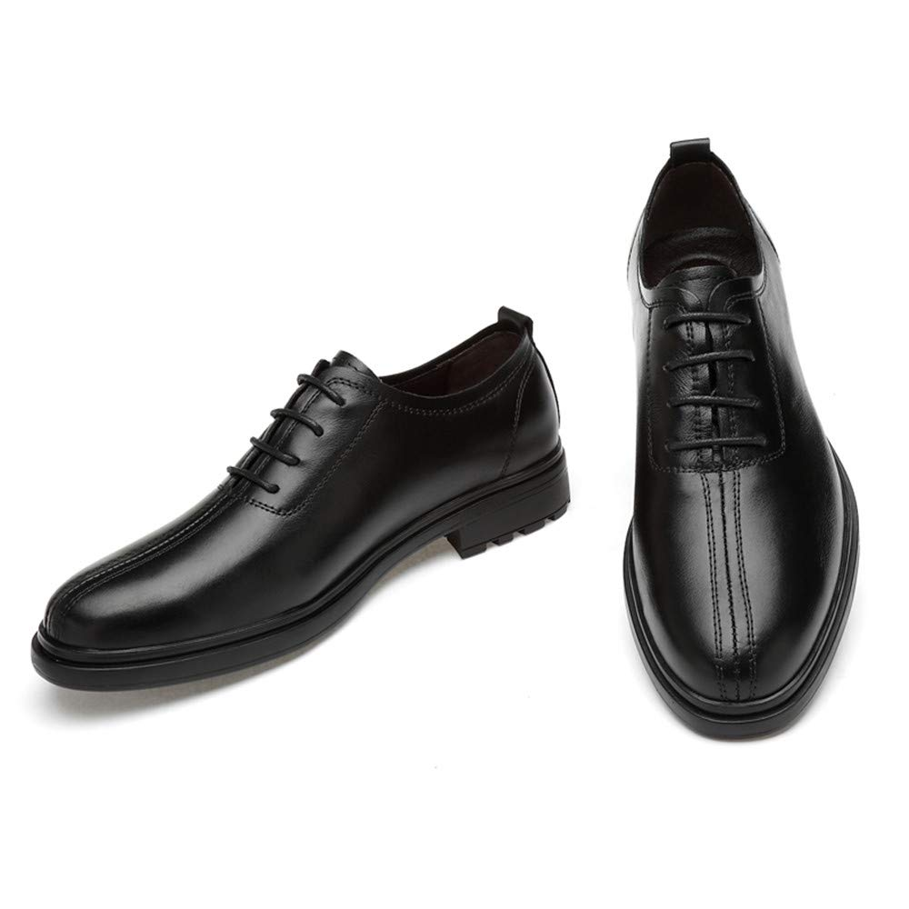 Mens Casual Fashion Gentlemens Trend Business Oxford Lace Up Round Toe Formal Shoes CHENDX Shoes
