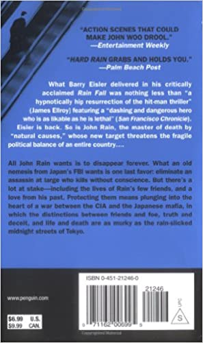 A Lonely Resurrection Previously Published as Hard Rain and Blood from Blood A John Rain Novel Book 2