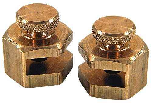(Johnson Level 405 Stair and Rafter Gauge Clamps fit all Framing Squares)
