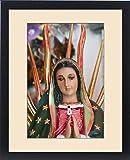 Framed Print of Mexico, Guerrero, Petatlan. Virgin of Guadalupe Art at the Santuario Nacional
