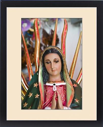 Framed Print of Mexico, Guerrero, Petatlan. Virgin of Guadalupe Art at the Santuario Nacional by Fine Art Storehouse