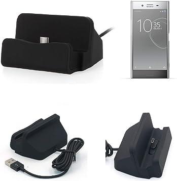 K-S-Trade Dock USB para el Sony Xperia XZ Premium, Negro ...