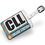 Luggage Tag Airportcode CLL College Station - NEONBLOND