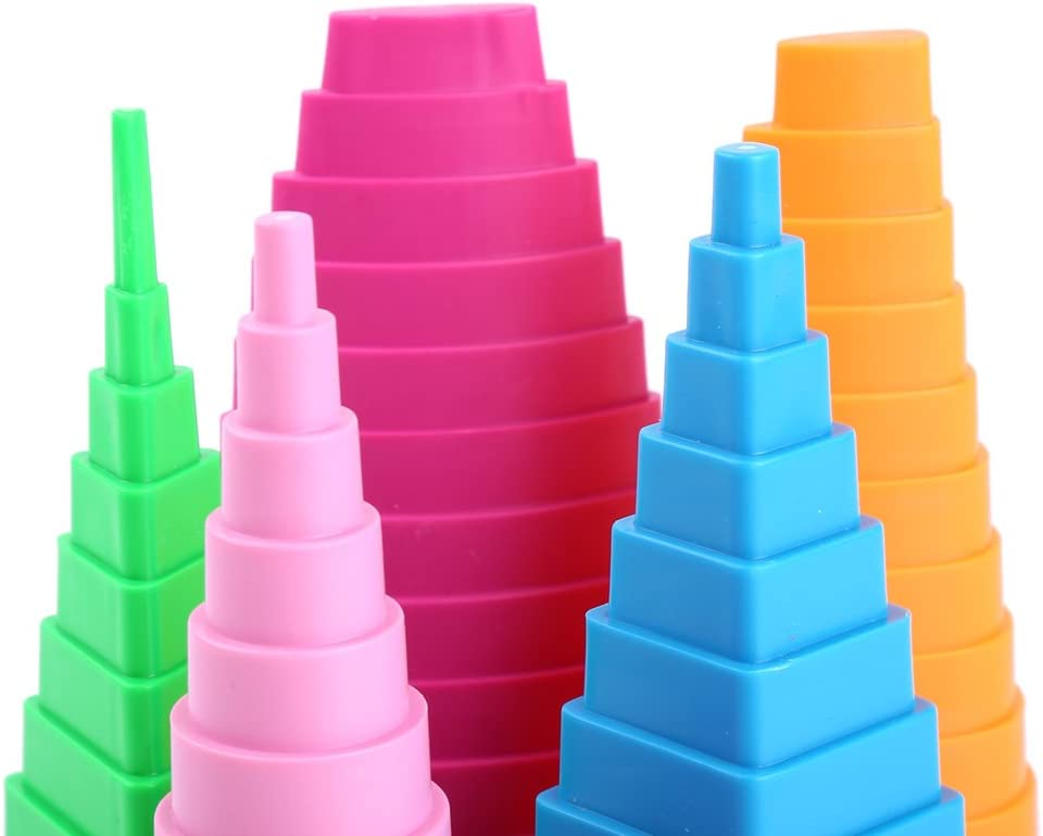 Quilling Creative Border Buddy Mixed Color 5 Shapes Towers for DIY Paper Creations Craft Tools