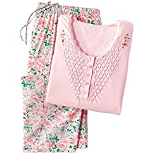 Carol Wright Gifts Smocked-Top Pajamas & Capris