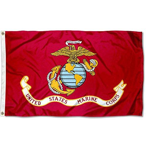 Marines USMC Seal Flag 3x5 Banner (Usmc Seal)