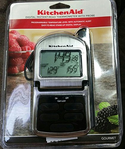 KitchenAid Digital Instant-Read Theremometer with Probe (Kitchenaid Digital Instant Read Thermometer With Probe)