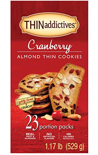 Thins Almond (THINaddictives Cranberry Almond Thins - 1.17 Lb (529 grams))