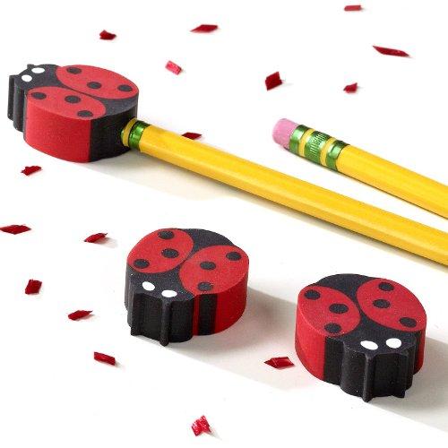 Ladybug Eraser Toppers (8)