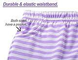 Summer Pajamas for Girls – Stripe & Glittering