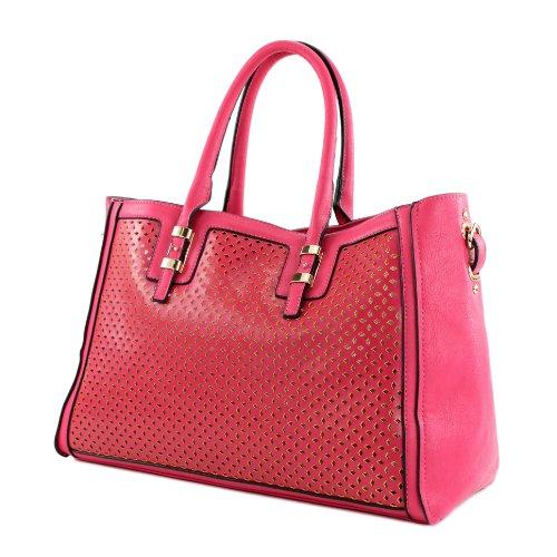 LOOKAT - Bolso de asas para mujer rosa - rosa
