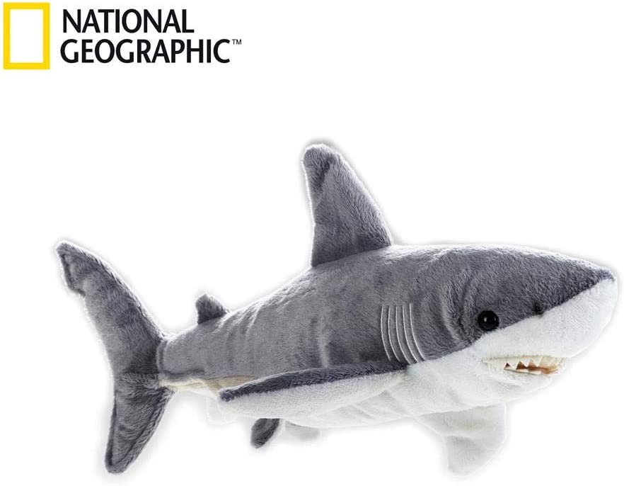 NATIONAL GEOGRAPHIC Shark Plush - Medium Size