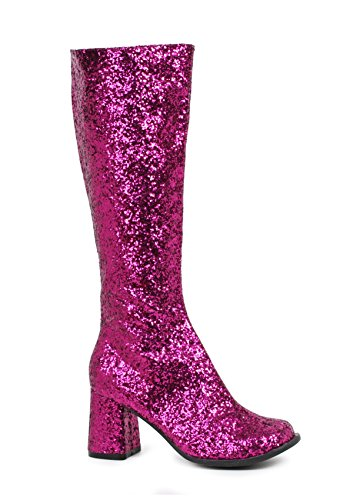 Scarpe Ellie Donna Gogo-g Chelsea Boot Fucsia Glitter