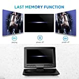 MYDASH Portable DVD Player 12.5 for Car and