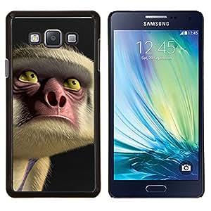 LECELL--Funda protectora / Cubierta / Piel For Samsung Galaxy A7 A7000 -- Ojos Cara Nariz de dibujos animados --