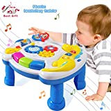 ACTRINIC Baby Toys Musical Learning Table 6 to 12 Months up-Early Education Music Activity Center Game Table Toddlers,Infant,Kids Toys 1 2 3 Years Old Boys & Girls- Lighting & Sound (New Gifts)