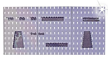 Super LOCHWAND XXL 3-tlg. Metall 1,20 m WERKZEUGWAND + HAKEN ZQ52