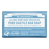 Dr. Bronner's Magic Soap Baby-Mild Bar Soap, 1-Count