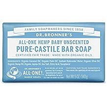 Dr. Bronner's Pure-Castile Bar Soap – Baby Unscented (5 oz)