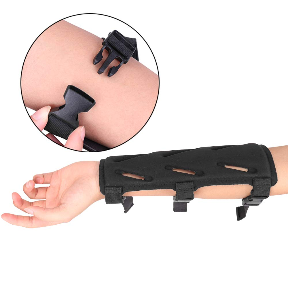 Magarrow Archery Arm Guard Lightweight Protective for Target Shooting Arrow Bow with Adjustable Strap